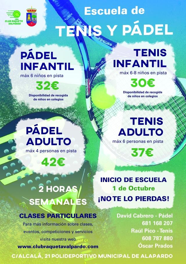 poster tenis_inicio escuela